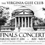 2014 Finals Concert Poster 8x11