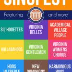 SingFest 2016 poster
